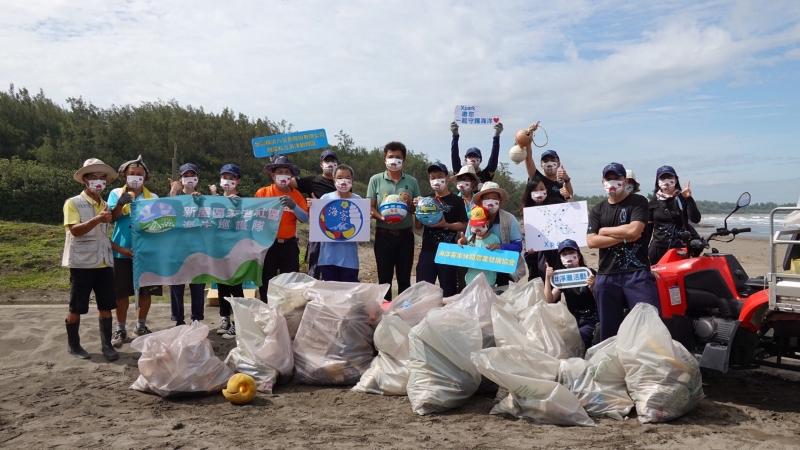 日本八景島關係企業,台日連線SDGs淨灘活動成功。